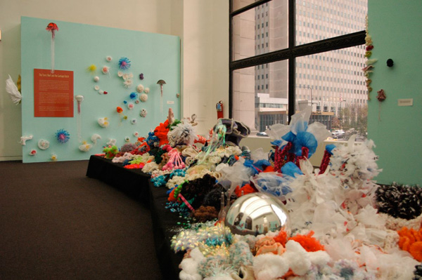 Installation view in gallery.