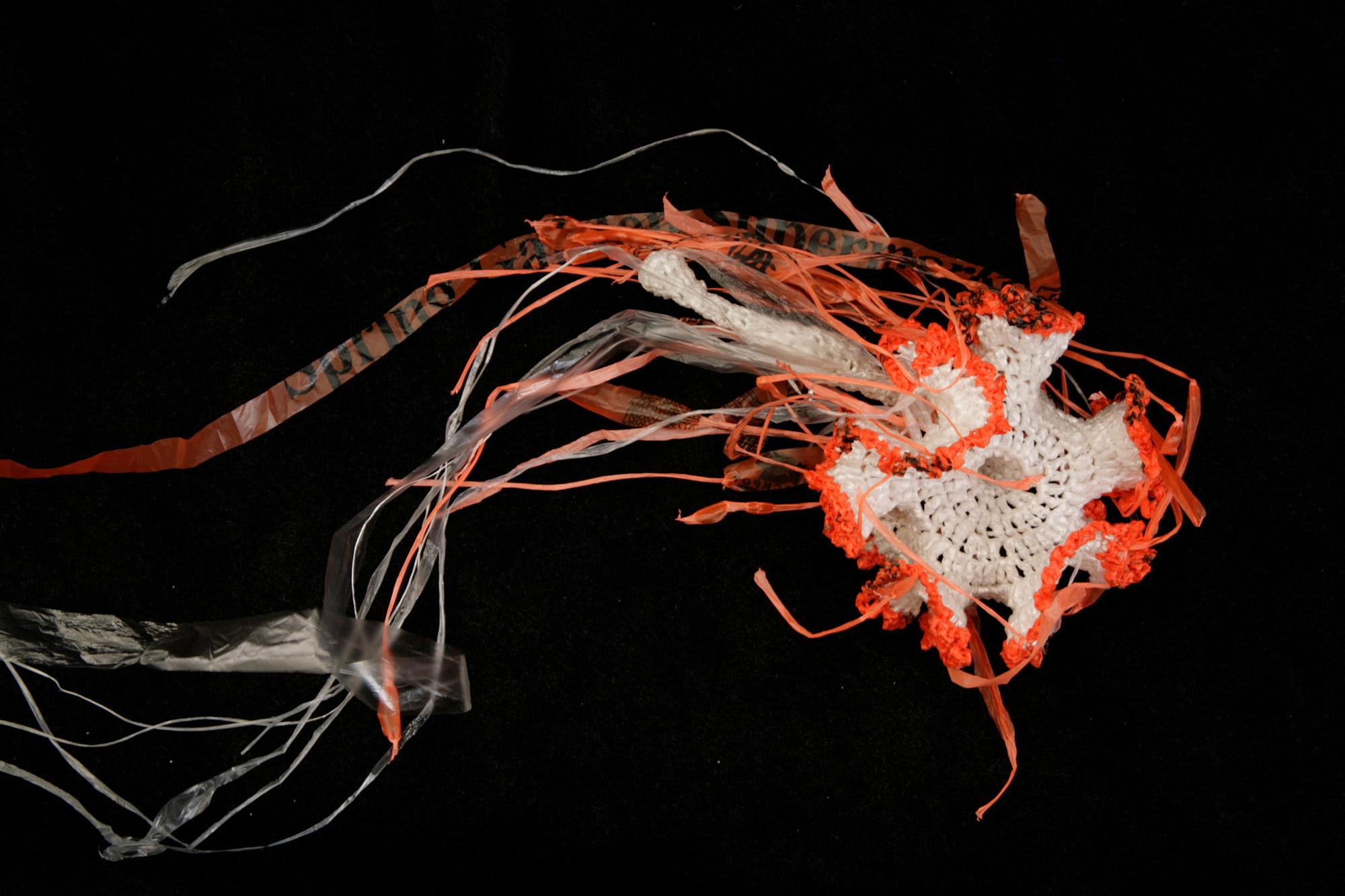 Jellyfish sculpture